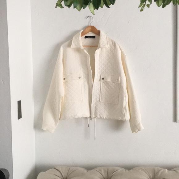 Zara Jackets & Blazers - ZARA - Quilted Jacket